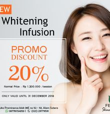 NEW Whitening Infusion by Feree Skincare Clinic