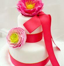 CAKE FLOWERS by theElegantdes