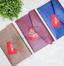 Envelope pouch for Dee Jewellery  by Gemilang Craft