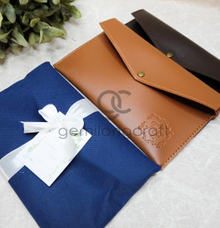 Envelope pouch packaging flanel Hasna & Fuad by Gemilang Craft