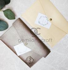 Prada envelope for Agung & Andhita by Gemilang Craft