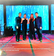 WEEKLY GIG at CASINO FILIPINO MANILA BAY by RHYTHM AND VOICES MUSIC