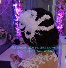 Hair Piece & Accessories by YANNA CHEN ATELIER