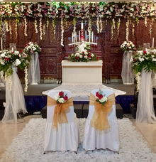 Church Decoration by Hatiku Florist