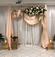 Gate Decor by Hatiku Florist