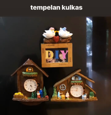 Tempelan kulkas by Heidy Sulistyo Craft