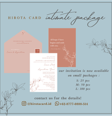 Intimate Package by Hirota Card