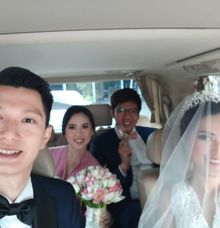 Albert n Fedora Wedding by sapphire wedding car