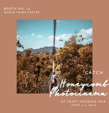 Event at TOAST Wedding Fair by Honeycomb PhotoCinema
