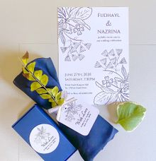 Hot Summer Wedding Invitation by Gift Elements