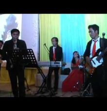 video performance full accoustic band music by Ai qing entertainment & WO