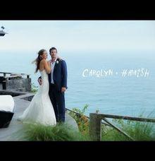 Carolyn & Hamish by Bali Wedding Films