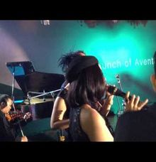 INTERLUDE Band on Launching of LAMBORGHINI AVENTADOR. at Potatto Head Garage SCBD Jakarta. by Rolando Sambuaga