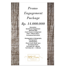 Only Rp. 14.000.000 by HR Team Wedding Group