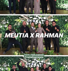 Wedding of Meutia & Rahman by Ibee Music