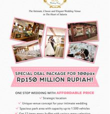 Special Deal Package for 300 Pax by MAC Wedding