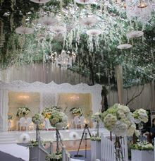 Nindy 's wedding by Suryo Decor