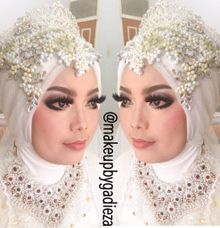 Riza akad n wedding by makeupbygadieza
