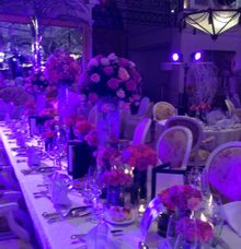 Peter and Angela Balnaves by Event Styling by Fleur Architect