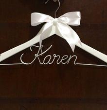 Plain Ribbon Hanger by Wedding Hanger Bali