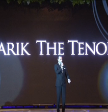Performing at Imperial Ballroom Blissful Wedding Fashion Show by Tarik The Tenor ( The Luxury Entertainment )