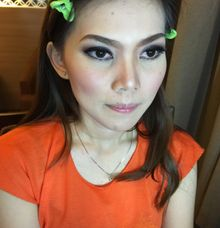 Trial Makeup Wedding by Sandra MUA The Bright Salon and Bridal
