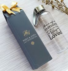 Plastic Bottle - Rizky & Anisa by Red Ribbon Gift