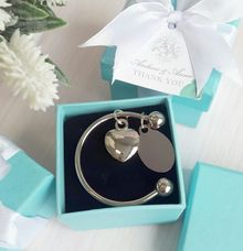Tiffany Keychain - Andrew & Anna by Red Ribbon Gift