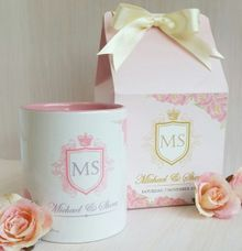 Mug Colour Inside - Michael & Shera by Red Ribbon Gift