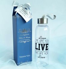 Plastic Bottle - William & Mariska by Red Ribbon Gift