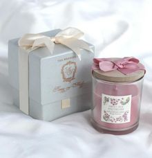 Scented Candle Flower - Kenny & Shierly by Red Ribbon Gift