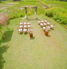 Lush Garden Wedding by Visesa Ubud