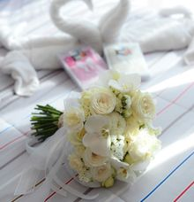 Wedding Hand Bouquet by Amaryllis Floral Art
