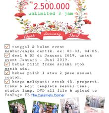 PROMO wedding package All in 2019 by Caramel's Photography