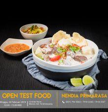 Jadwal Test Food by Nendia Primarasa Catering