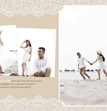 Doesn't need perfect, it just has to be true ❤ by Gorgeous Bridal Jakarta
