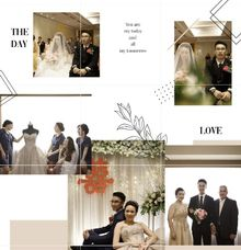 Happy wedding Andreas & Vienna ❤ by Gorgeous Bridal Jakarta