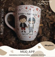 Mug Corning Wedding Robby & Natalia by Mug-App Wedding Souvenir