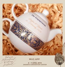 Teko Susun by Mug-App Wedding Souvenir