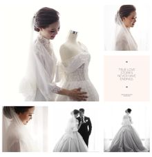 True Love Stories Never Have Endings ❤ by Gorgeous Bridal Jakarta