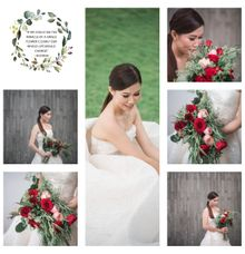 Where Flowers So Does Hope ❤ by Gorgeous Bridal Jakarta