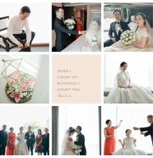 When i count my blessings ❤ by Gorgeous Bridal Jakarta