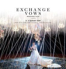 Exchange Vow Wedding Exhibition 3-4 August 2019 by Hanny N Co Orchestra
