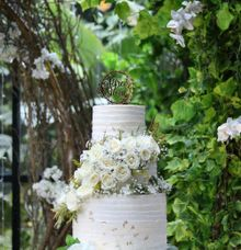 Wedding ALFRED & SILVIA by Evergreen Cake Boutique