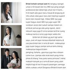 happiness ❤ by Gorgeous Bridal Jakarta