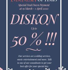 DISKON 50% by Solala Orchestra Entertainment