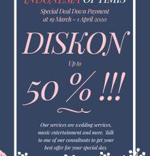 DISKON 50% by Solala Orchestra Entertainment