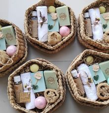 Rustic Bridesmaid Hampers by The Rustic Soap