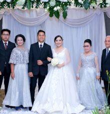 Marsyela Wedding by Golden Phoenix Rent Gown