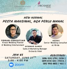ONLINE TALK SHOW (WEBMINAR) by Orchardz Hotel Industri
